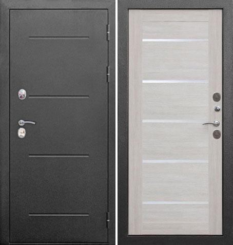 Входная дверь Термо-110 (Серебро/Лиственница беж): цены, характеристики, фото