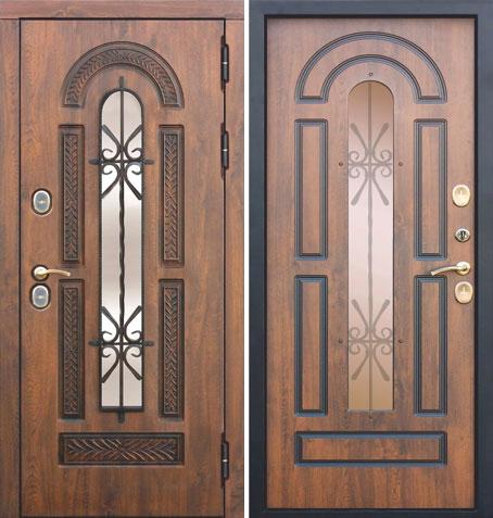 Входная дверь Викинг Термо-130 (Грецкий орех) (Vitra): цены, характеристики, фото
