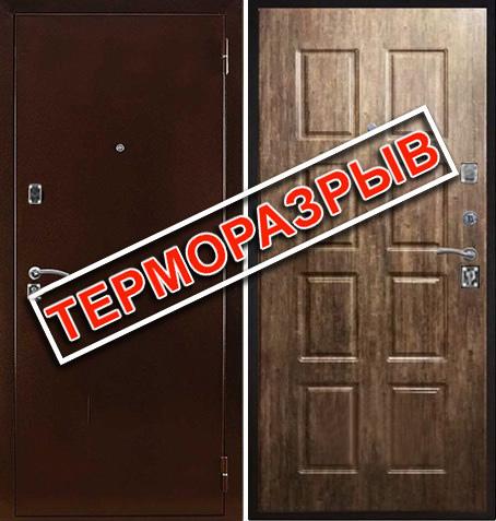 Входная дверь ТермоКомфорт: цены, характеристики, фото